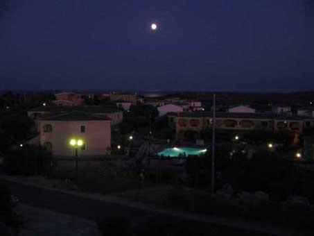 dal terrazzo la sera
